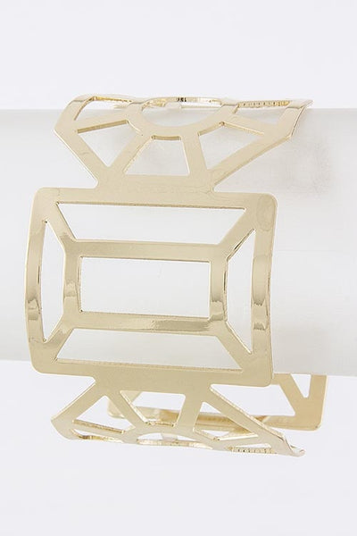 Instant Connection Cuff | Gold | Jewelry, Bracelet | JacksonsRunaway