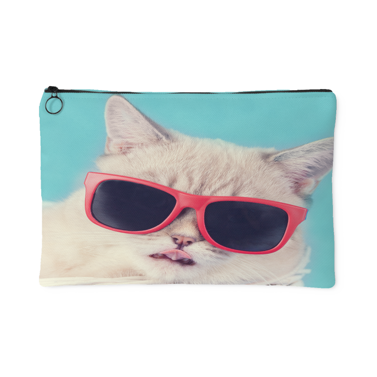 Cool Cat Pouch | Large Accessory Pouch | Accessories | JacksonsRunaway