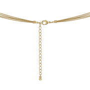 Golden Limits Gold Layered Necklace - Back Clasp | JacksonsRunaway