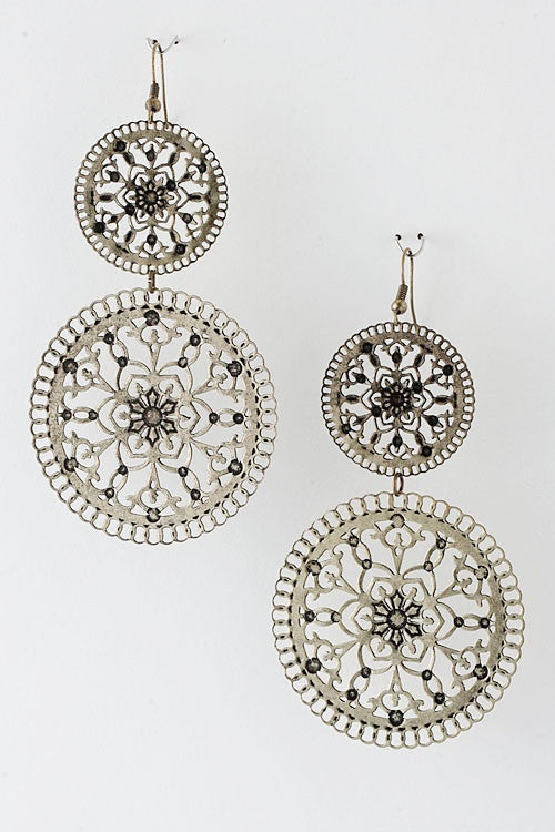 Ode To Home Drop Statement Earrings - Jacksons Runaway