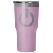Power On 30 Ounce Vacuum Tumbler | 30 Ounce Vacuum Tumbler - Light Purple | Tumblers | JacksonsRunaway