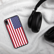 American Flag iPhone Hard Shell Full Protective Case |  | Mobile Phone Cases | JacksonsRunaway