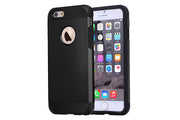 iPhone 6 and 6S   Shockproof Hybrid Armor Case   JacksonsRunaway   Black