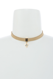 Find Your Way Choker Necklace in Beige