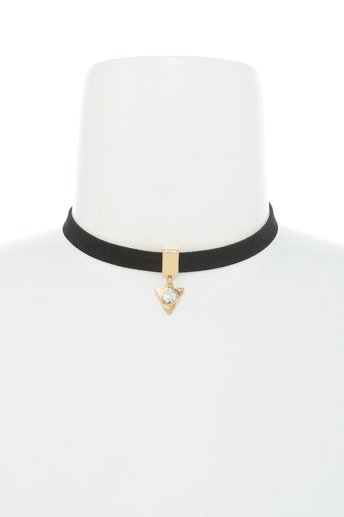 Find Your Way Choker Necklace - Black | JacksonsRunaway