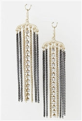 Drop Of Dazzling Chandelier Earrings - Jacksons Runaway