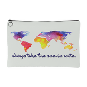 Travel Scenic Routes Carry All Pouch | Small Accessory Pouch | Accessories | JacksonsRunaway