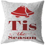 Tis the Season Pillow | Zip Cover with Insert / 26 x 26 / White | HomeGoods | JacksonsRunaway