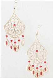 Fall In Filigree Statement Earrings - Jacksons Runaway
