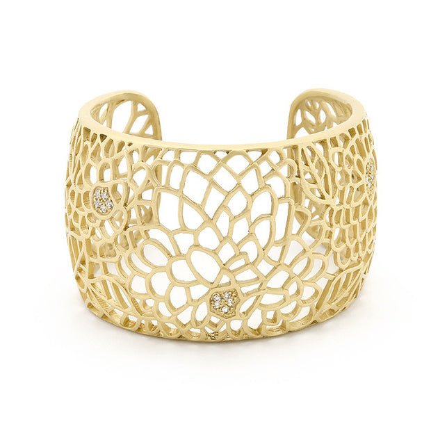 Filigree Flower Cuff - Jacksons Runaway