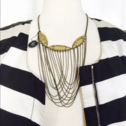 Empress Statement Chain Necklace - Jacksons Runaway