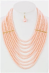 Glamour Pearls Layered Necklace - Jacksons Runaway