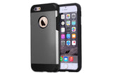 iPhone 6 and 6S   Shockproof Hybrid Armor Case   JacksonsRunaway   Gray