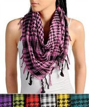 Houndstooth Plaid Lightweight Scarf - Jacksons Runaway