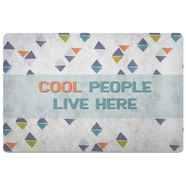 Cool People Doormat