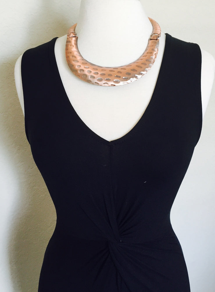 Hammer Time Bib Necklace