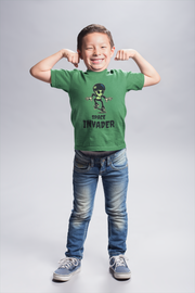 Space Invader Kid's  Classic T-shirt (Model T22) |  | Kid's Classic T-shirt (T22) | JacksonsRunaway