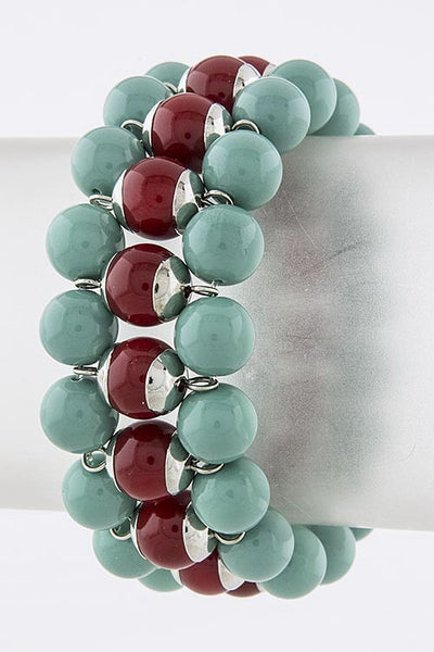 Beloved Women's Stretch Bracelet | Turquoise | Jewelry, Bracelet | JacksonsRunaway
