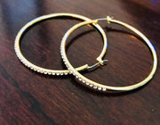Endless Loop Hoop Earrings - Model Image | JacksonsRunaway