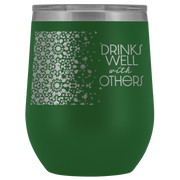 Well With Others Tumbler | Green | Wine Tumbler | JacksonsRunaway