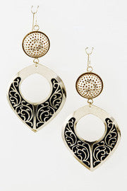 Leaf Your Mark Drop Statement Earrings - Jacksons Runaway