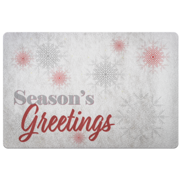 Seasons Greetings JacksonsRunaway Doormat