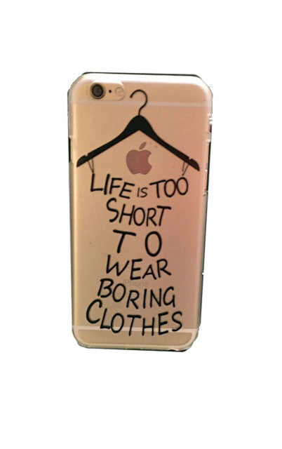 iPhone 6 Case   Life is Too Short To Wear Boring Clothes   Jacksons Runaway   2