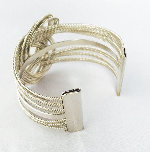 Looped In Cuff Women s Bracelet - Back Image | JacksonsRunaway