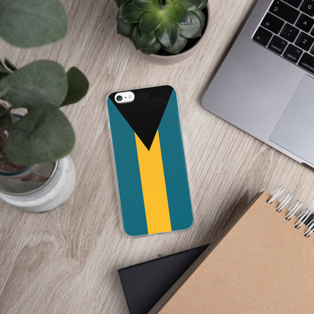 Flag of the Bahamas iPhone Case | iPhone 6 Plus/6s Plus | Mobile Phone Cases | JacksonsRunaway