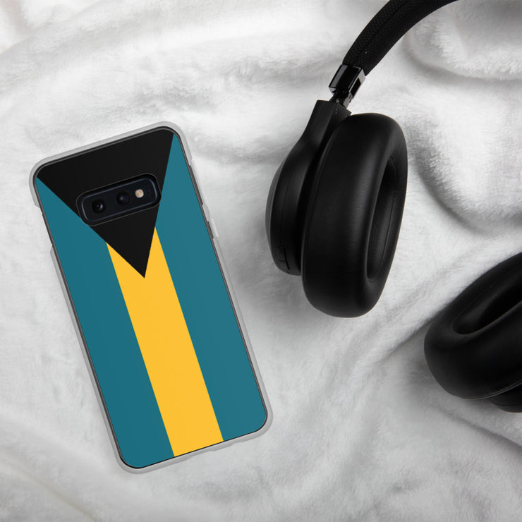 Flag of the Bahamas Samsung Case | Samsung Galaxy S10e | Mobile Phone Cases | JacksonsRunaway