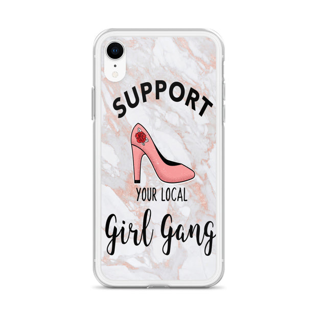 Support Your Girl Gang iPhone Case