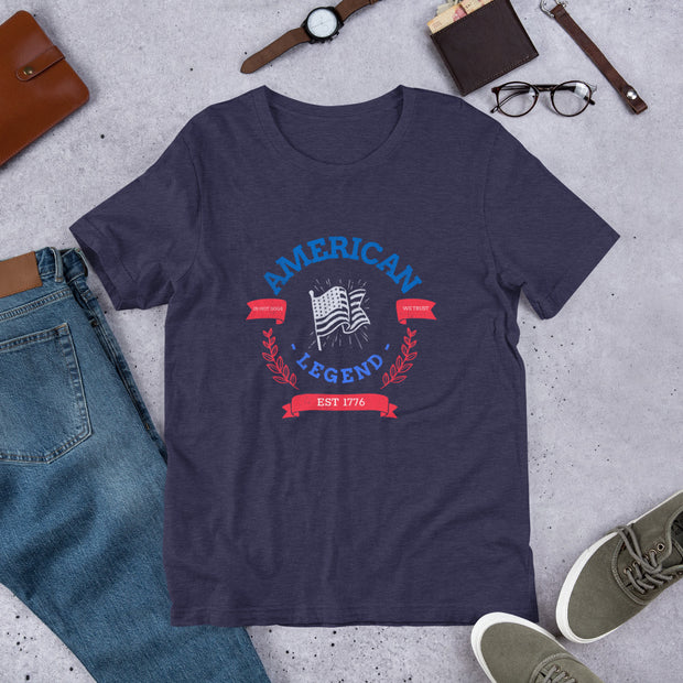 American Legend Jersey T-Shirt | Heather Midnight Navy / 2XL | T-shirt | JacksonsRunaway