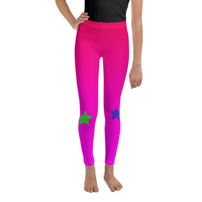 Starring Youth Leggings | 20 / Pink/Multi | Activewear | JacksonsRunaway