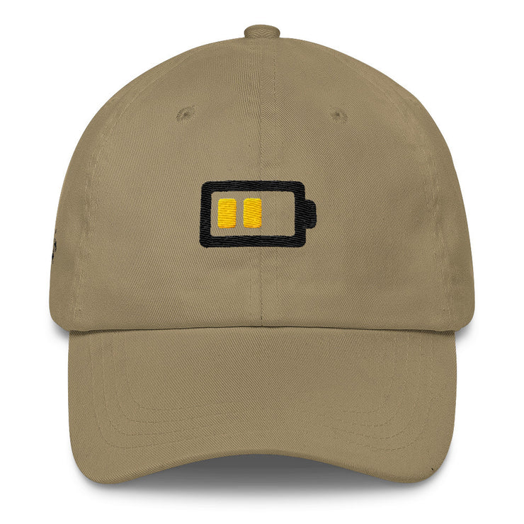 Low Battery Classic Dad Hat