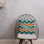 Chevron Bird Pillow Case w/ stuffing | Default Title | HomeGoods | JacksonsRunaway