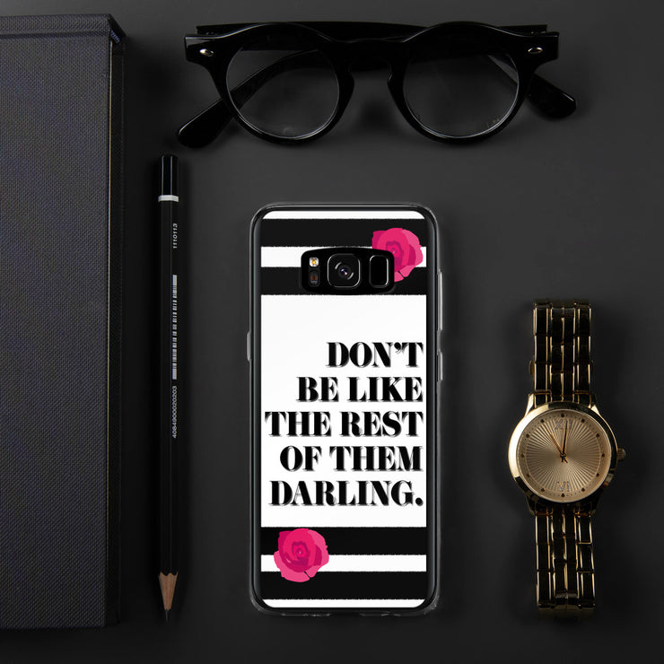 Don't Be Like Them Samsung Case | Samsung Galaxy S8 | Mobile Phone Cases | JacksonsRunaway