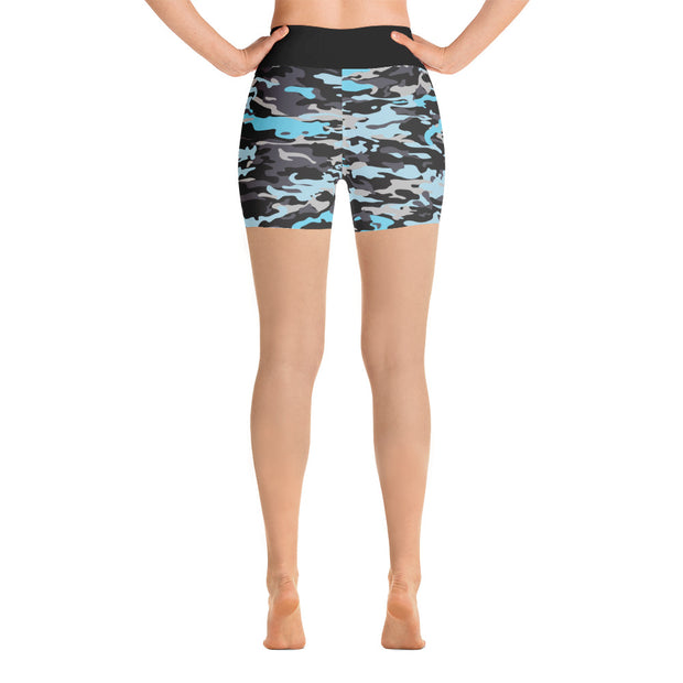 Camo Bootcamp Yoga Shorts