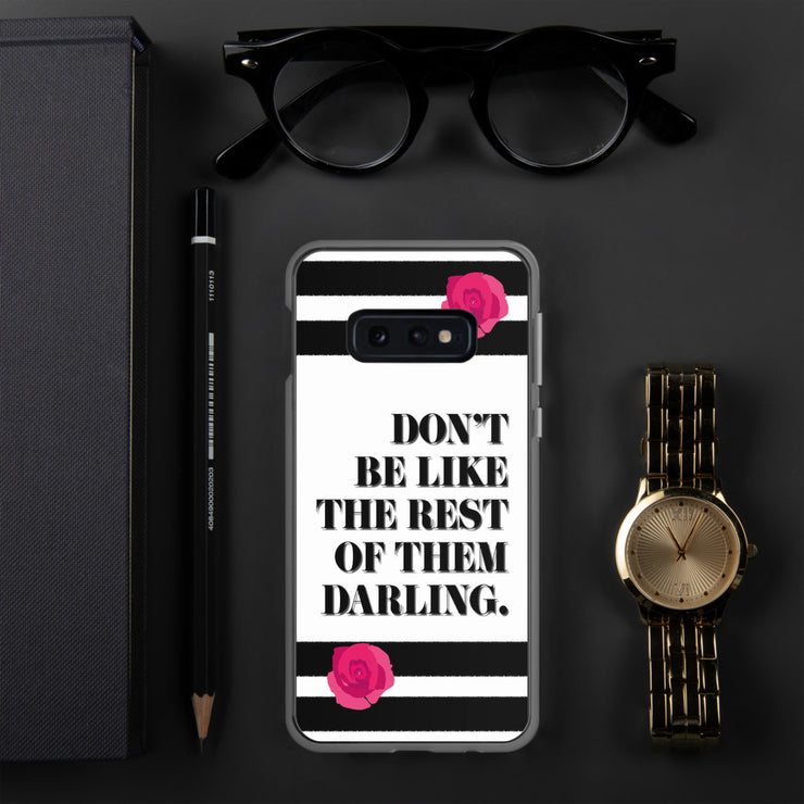 Don't Be Like Them Samsung Case | Samsung Galaxy S10e | Mobile Phone Cases | JacksonsRunaway