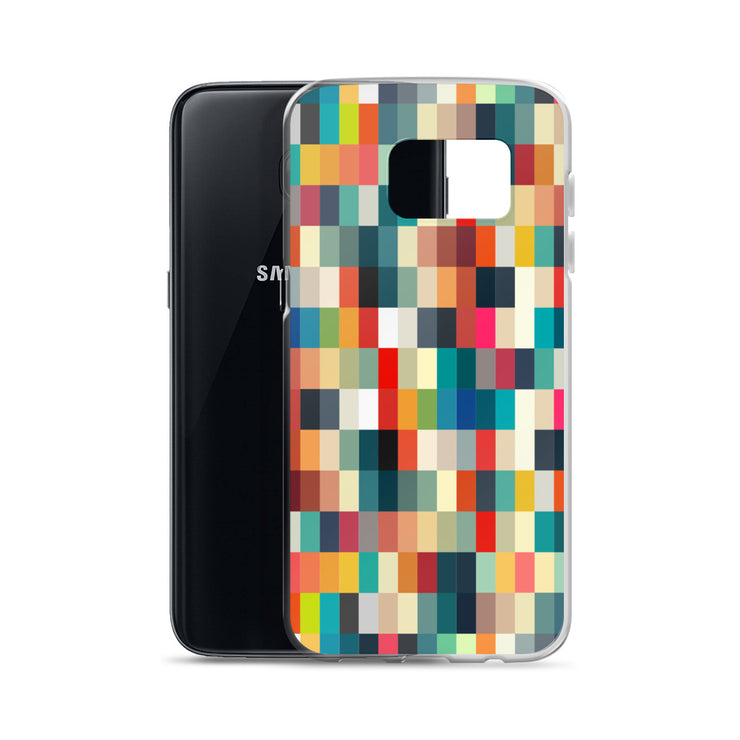 Blurred Pixelated Samsung Phone Case | Samsung Galaxy S7 | Mobile Phone Cases | JacksonsRunaway