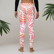 Watercolors Full Pant Women's Leggings |  | Activewear | JacksonsRunaway