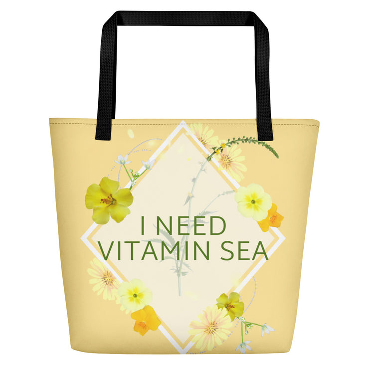 Vitamin Sea Beach Bag |  | Beach Bag | JacksonsRunaway