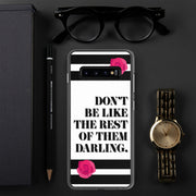 Don't Be Like Them Samsung Case | Samsung Galaxy S10+ | Mobile Phone Cases | JacksonsRunaway