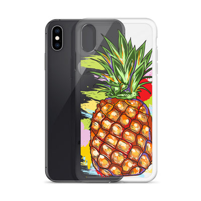 Pineapple Splash iPhone Case