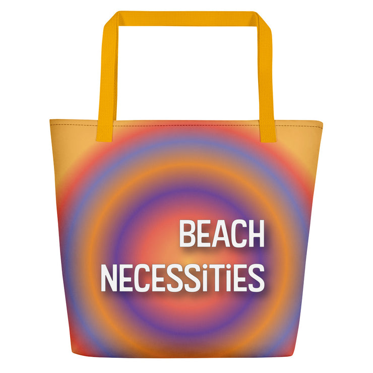 Necessities Beach Bag | Yellow |  | JacksonsRunaway