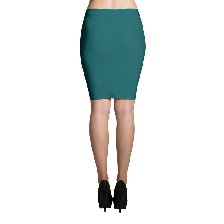 Shaded Spruce Pencil Skirt