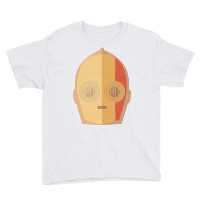 Humanoid Youth Short Sleeve T-Shirt | White / XL |  | JacksonsRunaway