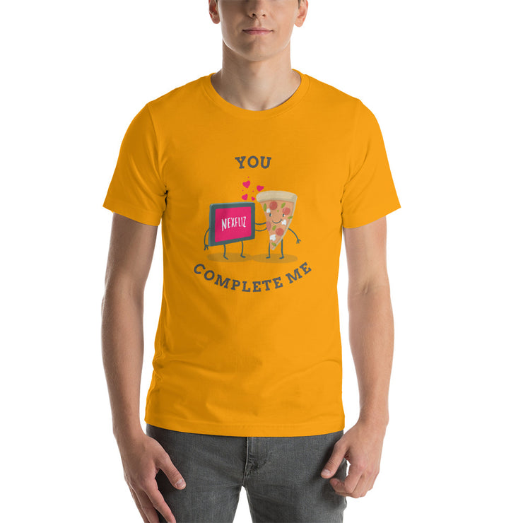 You Complete Me T-Shirt | Gold / 4XL | T-shirt | JacksonsRunaway