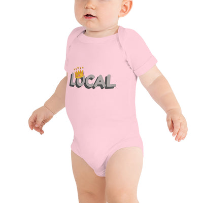 Local Baby Jersey Short Sleeve One Piece | Pink / 18-24m | Baby | JacksonsRunaway