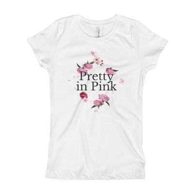 Pretty In Pink Kid's T-Shirt | White / XL |  | JacksonsRunaway