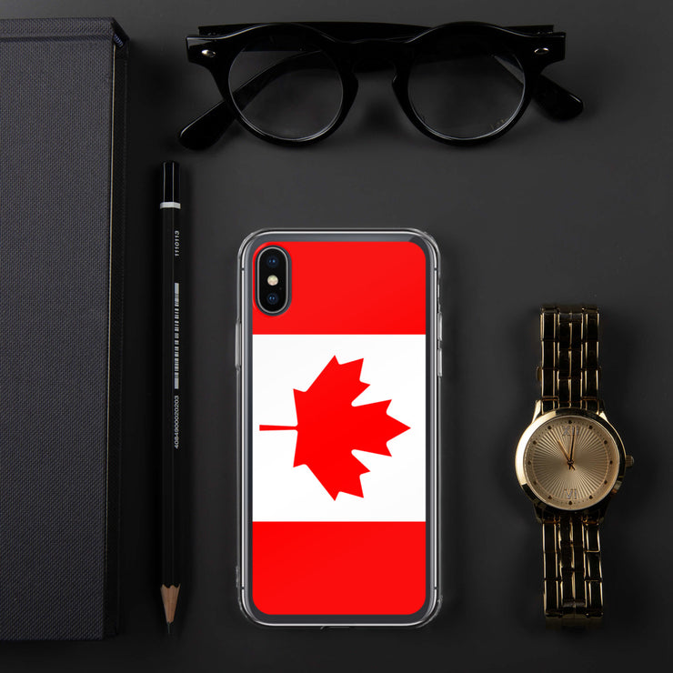 Flag of Canada Protective iPhone Case (For all iPhone 5,6,7 Models) | iPhone X/XS | Mobile Phone Cases | JacksonsRunaway